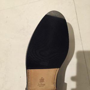 革靴にハーフラバーを貼るべきか?