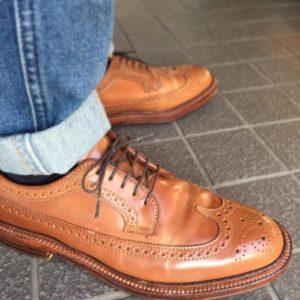 オールデンのコードバン靴磨きの基本(靴みがき方法・道具・頻度)