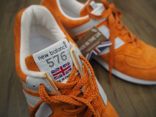 英国製ニューバランスM576POGは上品なオレンジが魅力!