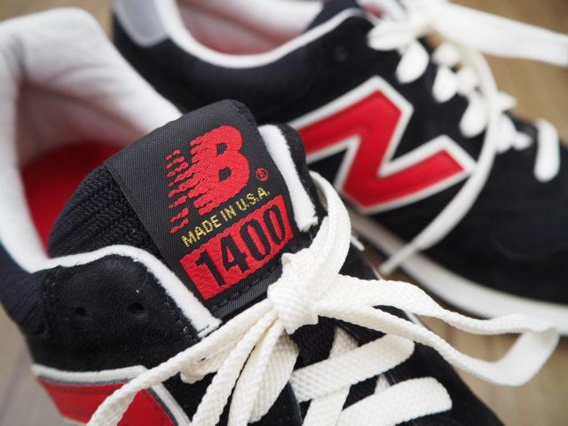 ブラック×レッドの特別なニューバランスM1400HB!
