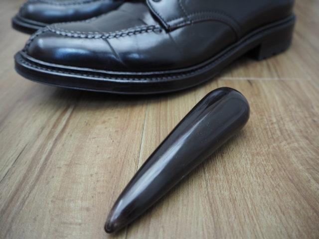 かっさ棒でオールデンのコードバン靴の水染みお手入れ!