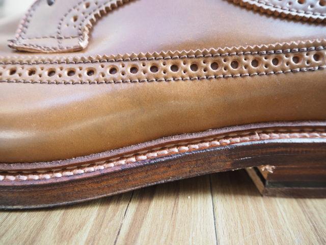 オールデンリバースウェルト(pre-stitched reverse welt)